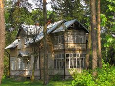 Manor Houses, Poland, Cabin, Traditional, House Styles, Ideas, Home Decor, Mansions, Room Decor