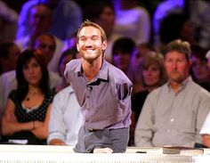 What's your excuse for not getting up and taking control of your #life ? ? #InspirationalPeople   #NickVujicic : An #Inspiring Man Born without Arms or Legs