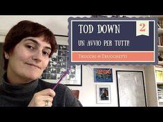Tutorial maglia top - down: calcoli per avvio lavoro - YouTube