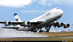 Iran Air Boeing 747-286BM (registered EP-IAG) departing Paris-Orly