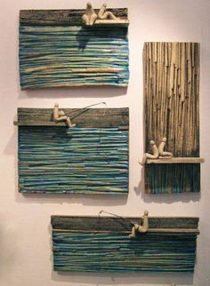 contemporary ceramic vases art by the sea greek contemporary art . contemporary ceramic vases art by the sea greek contemporary art by Truus De Pri … – Ceramic Wall Art, Ceramic Clay, Ceramic Vase, Ceramic Pottery, Pottery Art, Ceramics Projects, Clay Projects, Sculpture Clay, Wall Sculptures
