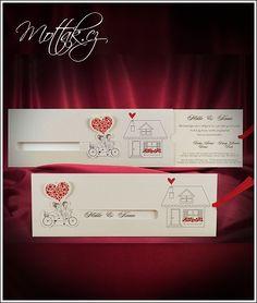Svatební oznámení 2667 Invitations, Weddings