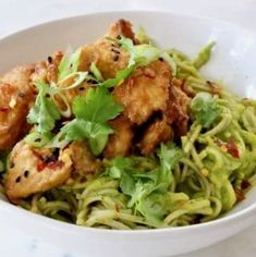 Easy air fried peanut tofu bowl with soba noodles in a raw mango avocado sauce. Crispy caramelized edges, soft center piled up over luscious noodles. Peanut Sauce Noodles, Tofu Noodles, Buckwheat Soba Noodles, Asian Noodles, Tofu Recipes, Sauce Recipes, Delicious Recipes, Best Salsa Recipe, Vegan Ribs
