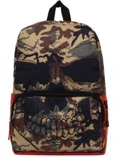 """Camo Mr. Peterson"" Backpack by Mojo Backpacks (Camo)"