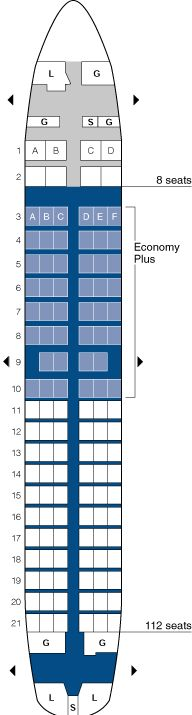 united airlines boeing 737 seating map aircraft chart