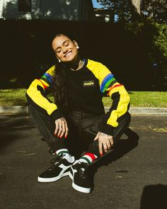 Kehlani photoshoot for Diadora - December 2017