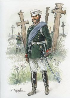 Russia; Préobrajenski Regiment, Officer. during the Russo-Turkish war, 1877-1878