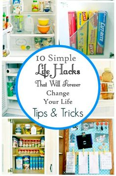 Simple Life Hacks That Will Forever Change Your Life #DIY