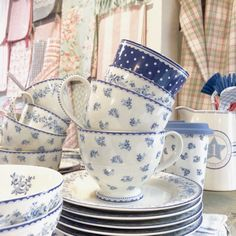 Audrey Indigo collection by GreenGate. don't loose it!