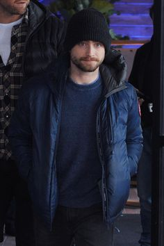 Harry Potter star Daniel Radcliffe showed off his red beard and moustache as he was spotted out and about in the ski town of Park City, Utah.   • Celebrity WOTNOT  --------------- For further information on these stories and images please visit www.celebritywotnot.com. These Images are ©Atlantic Images. No use without permission.