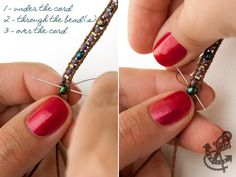 Bohemian Style Wrap Bracelets with Beads - Tutorial
