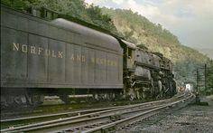 Norfolk Western Auville Yard Iaeger West Virginia