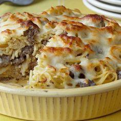 Ranch Spaghetti Pie