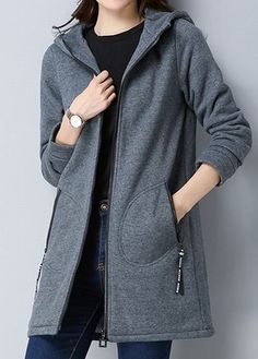 trendy Outerwear Coats with competitive price Mode Mantel, Swing Coats, Green Coat, Mode Hijab, Denim Coat, Outerwear Women, Coats For Women, Fashion Outfits, Trendy Fashion