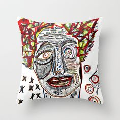 ENVIDIA Throw Pillow by ALOU - $20.00