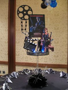 Movie Themed Centerpiece