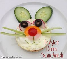 Easter Bunny Sandwiches: Fun Food for Kids! | The Jenny Evolution