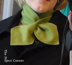 The Project Corner: SCARF WEEK...project #1 Neck Scarf