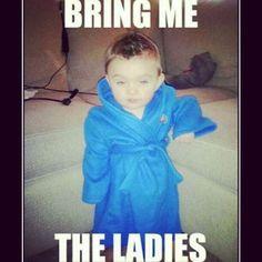 Yup yup #HughHefner #throwback #young #baby #playboy #mansion #pimpin #lol #swagg  http://whosin.com/babies