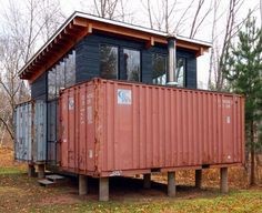 homes made from shipping containers   cargo container home2