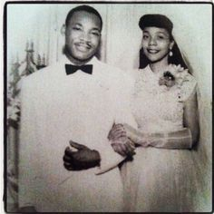 Dr. King and Coretta Scott