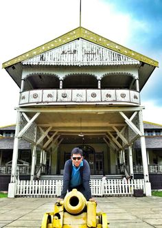 Malay Palace in Pontianak - West Borneo...