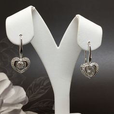 These  Heart Shaped Diamond Earrings would make the perfect accessory for any occasion! Now Available at Silva & Co. Jewelers in the N. Dartmouth Mall.  #jewelry #weddingjewely #springfashion #diamond #fashion #victorian #weddingdress #gemstone #bling #luxury #wedding #trendy #accessories #love #springfashion #beautiful #OOTD #style #fashionista #accessory #instajewelry #stylish #whitegold #jewelrygram #fashionjewelry #earrings #earring #diamonds #silvacojewelers #summerlove        Trendy…