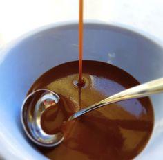 Klassisk brun saus Dressing, Chocolate Fondue, Food And Drink, Cooking Recipes, Cookies, Desserts, Ark, Postres, Dessert
