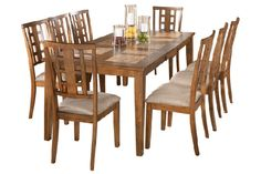 Tucker Extension Dining Table From Ashley Furniture.