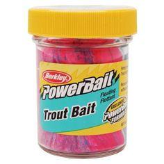 Berkley PowerBait 1.75 oz Biodegradable Trout Bait, Capt. America Red/White/Blue, Multicolor