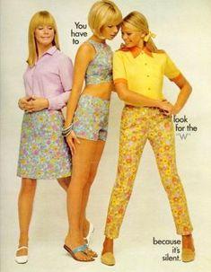 1967 Lady Wrangler ad in Seventeen Magazine. by lola