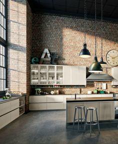 #kitchen with island FRAME by Snaidero | #design Massimo Iosa Ghini @snaiderocucine