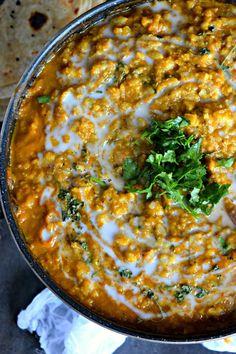 Vegan Cauliflower Tikka MasalaCurries & Gravies