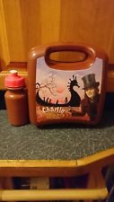 Rare charlie and the chocolate lunch box and flask. Came with dvd when released