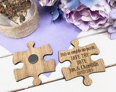 Rustic Wooden Save the Date Wedding Invite, Alternative Wedding Idea