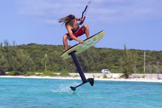 Learn how to kite foil