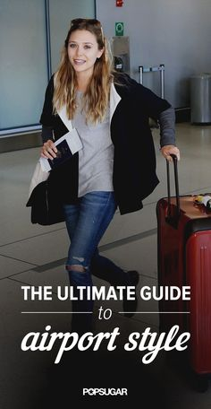 Airport outfit inspiration