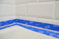 How To Re-Caulk Your Bathtub (The Right Way) – DIY Huntress – dianaevans. Bathtub Caulking, Bathroom Caulk, Bathroom Cabinets, Bathrooms, Bathtub Remodel, Diy Bathroom Remodel, Bathroom Renovations, Bathroom Layout, Small Bathroom