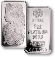 Pisces:  Platinum is a Piscean metal.
