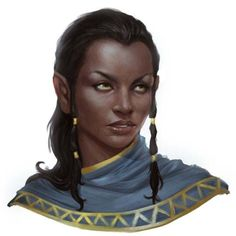 Nuari in 'Thyatia' or dominion/territory of Thyatis (Empire of) area  [Character Portraits]