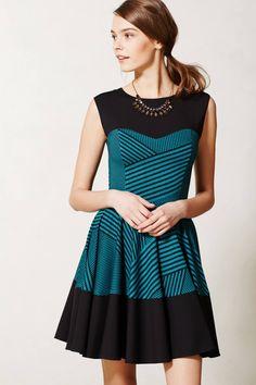 Stripe Swing Dress / anthropologie