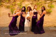 Group shots can be fun ;) A gorgeous Irish bride with her bridesmaids. #Destination wedding in the surroundings of The Lazy Olive, Asciano, #Tuscany. Full story here http://bit.ly/1iivtCP