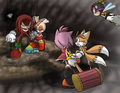 Knuckles the echidna in Sonic Boom - knuckles the echidna fan club Photo (36696904) - Fanpop Sonic Boom Knuckles, Sonic And Amy, Echidna, Sonic Fan Art, Cartoon Pics, Manga, Art Tutorials, Sonic The Hedgehog, Art Drawings