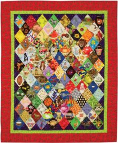 Here are some ideas for using those novelty prints in your quilts, instead of just buying them. http://quiltbooksandbeyond.com/use-novelty-prints-quilts/
