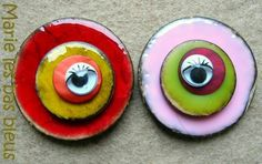 buttons made into pins.  where to find enameled buttons?