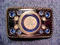 Custom Buckle with Gems