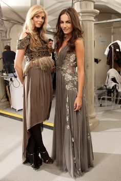 """Camilla Belle Evening Gown, omw I LOOOVE CAMILLA""""S DRESS!!! The sweeping grey and lace with beading! Anyone know who made this?!"""