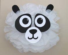 Panda Bear pom pom kit noahs ark baby by TheLittlePartyShopNY