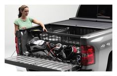 truck bed organizers for groceries | ... Lock - Cargo Manager Rolling Truck Bed Divider Roll-N-Lock CM207