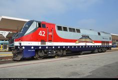 RailPictures.Net Photo: AMTK 42 Amtrak GE P42DC at Los Angeles, California by Craig Walker